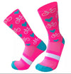 Bike Love Socks - four colours to choose from