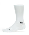 Swiftwick Aspire Seven Cycling Sock - White