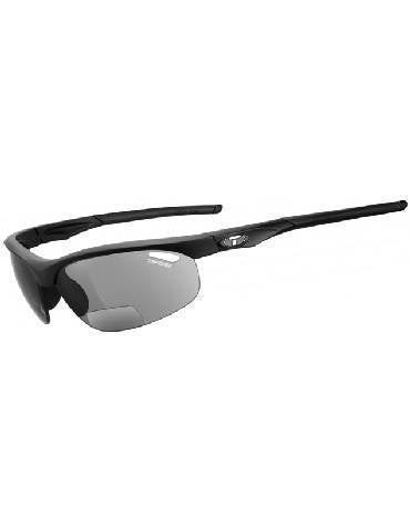 bicycle Glasses - Tifosi Radius Matte Black Reader 1.5X  Sport Bifocals