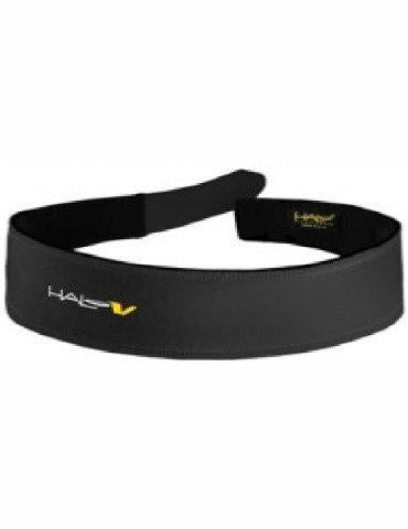 HALO V Velcro Sweatband (Black) - Velcro Adjustable Convenience