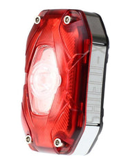 Moon Shield X - USB rechargeable 80 lumen rear light