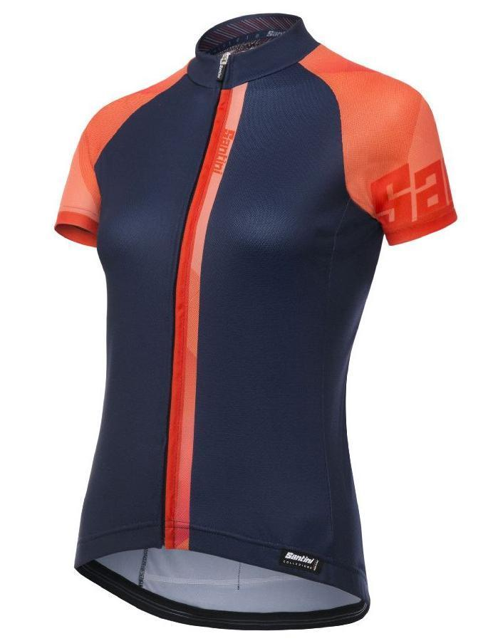 5895dbaf0 Women s Summer Jerseys - Santini Giada Women s Jersey Orange