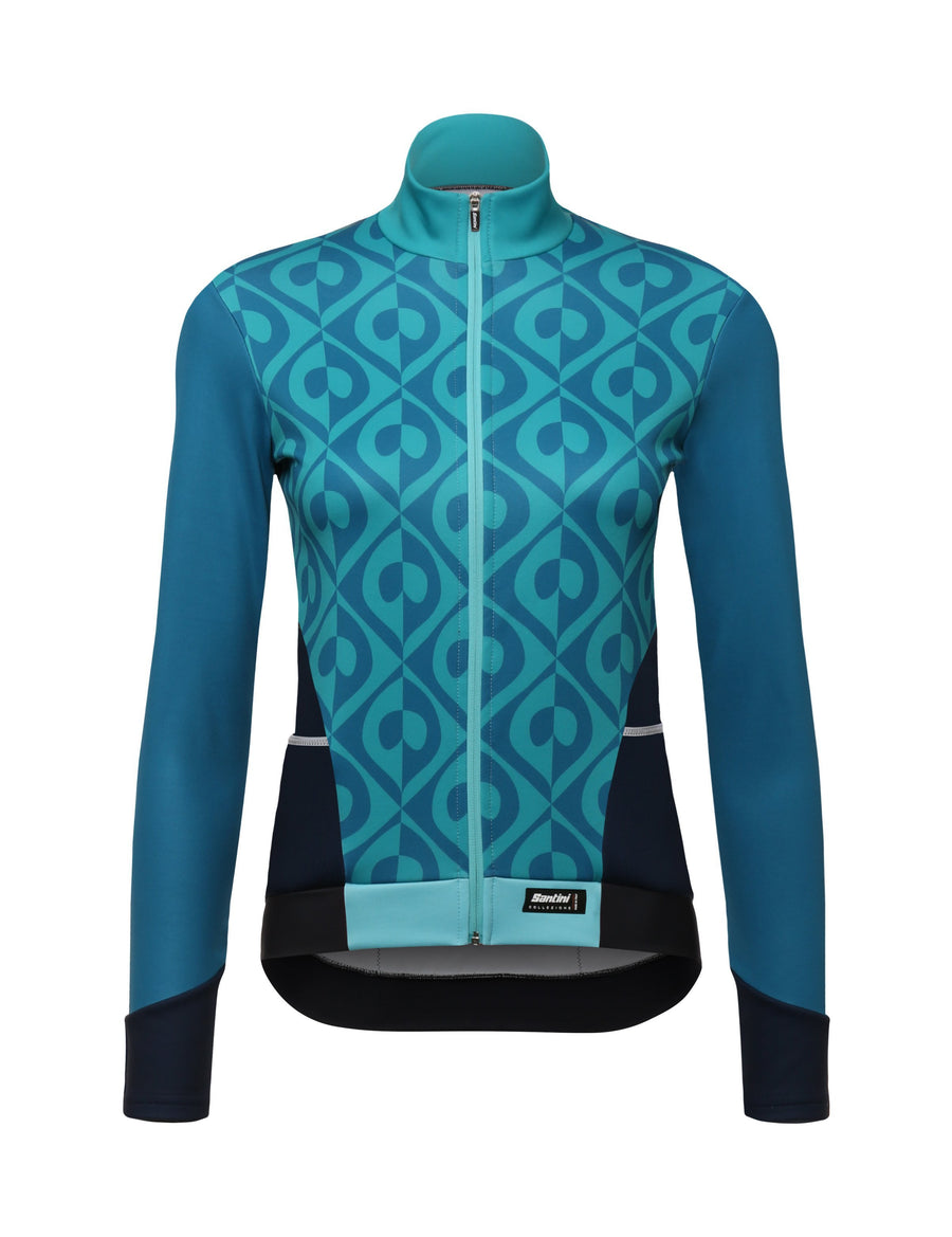 df6a90d87 Women s cycling jerseys - winter   cold weather - Cycling and Sports ...
