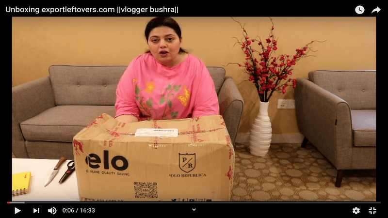 Bushra blogger reviews elo