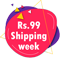 rs 99 shipping