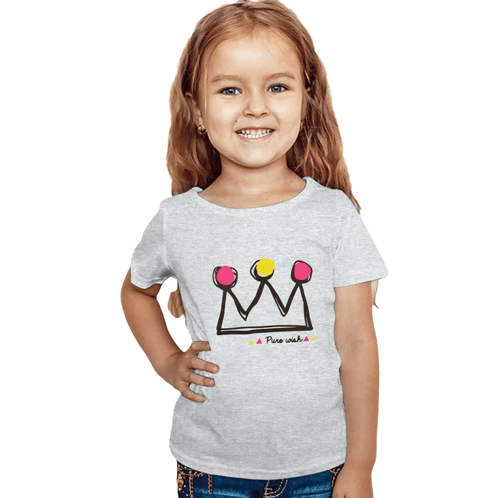 025eedf7 Pure Wish Printed Kids Tee Shirt Girl's Tee Shirt First Choice 12-18 Months