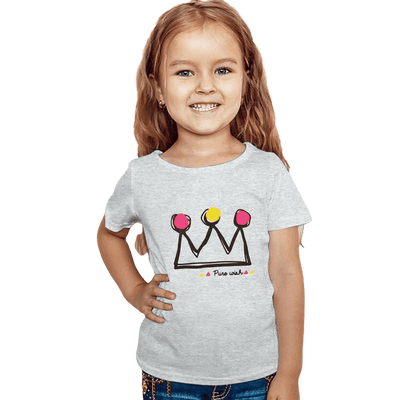 Pure Wish Printed Kids Tee Shirt Girl's Tee Shirt First Choice 12-18 Months