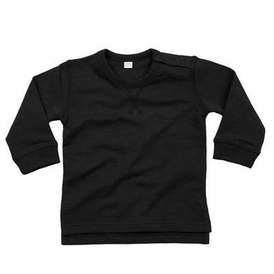 Trence Classic Sweat Shirt Boy's Sweat Shirt Image Black 12-18 Months