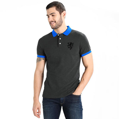 Polo Republica Leo Polo Shirt Men's Polo Shirt Polo Republica Charcoal Blue S