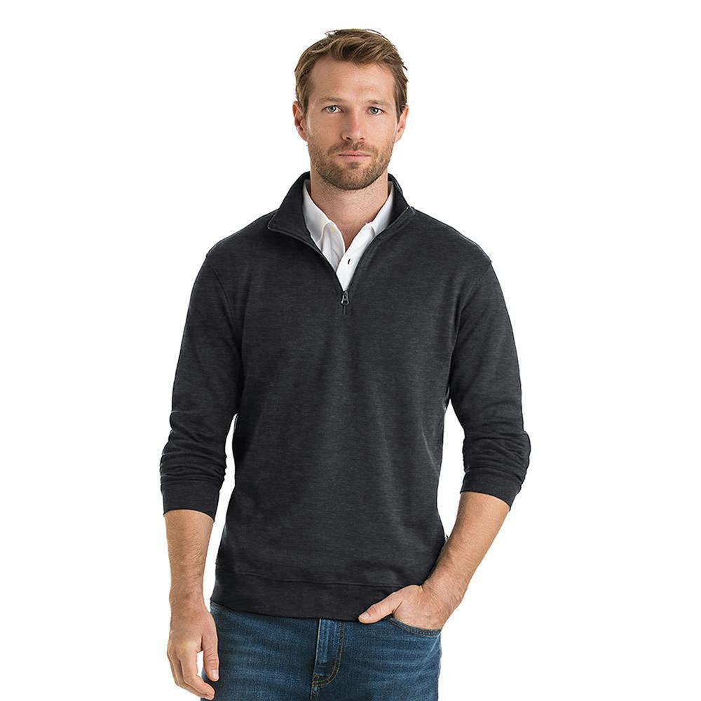 Polo Republica Homlet Zipper Neck Sweat Shirt Men's Sweat Shirt Polo Republica Charcoal M
