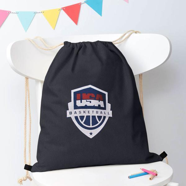 Polo Republica Basketball Drawstring Bag