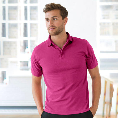EGL Contrast Collar Short Sleeve Polo Shirt Men's Polo Shirt EGL