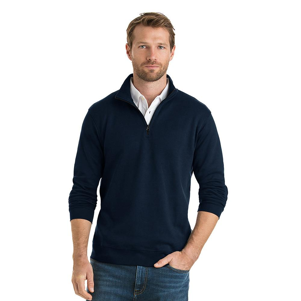 Polo Republica Homlet Zipper Neck Sweat Shirt Men's Sweat Shirt Polo Republica Navy L
