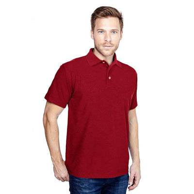 DCK Zeelami Short Sleeve Polo Shirt Men's Polo Shirt Image Red M