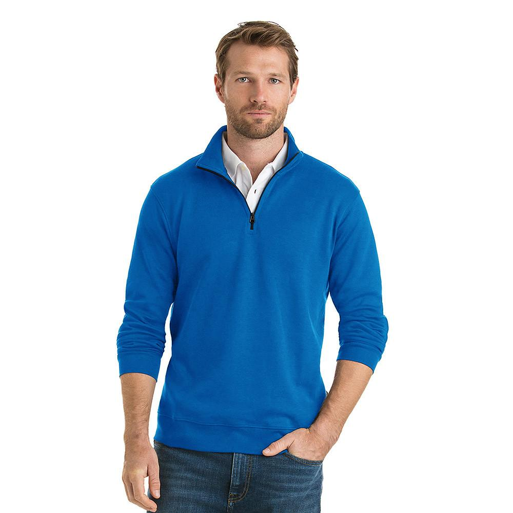 Polo Republica Homlet Zipper Neck Sweat Shirt Men's Sweat Shirt Polo Republica Aqua S