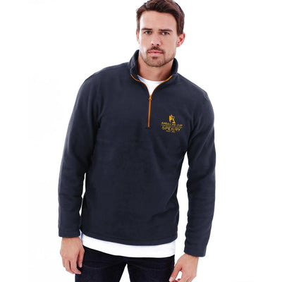Polo Republica America's Cup Sperry 1/4 Zipper Neck Sweat Shirt Men's Sweat Shirt Polo Republica Navy S
