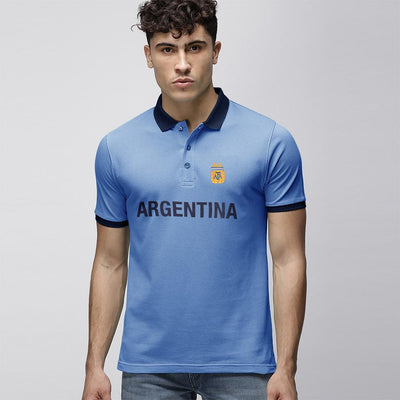 Polo Republica Argentina Polo Shirt Men's Polo Shirt Polo Republica Sky Navy S