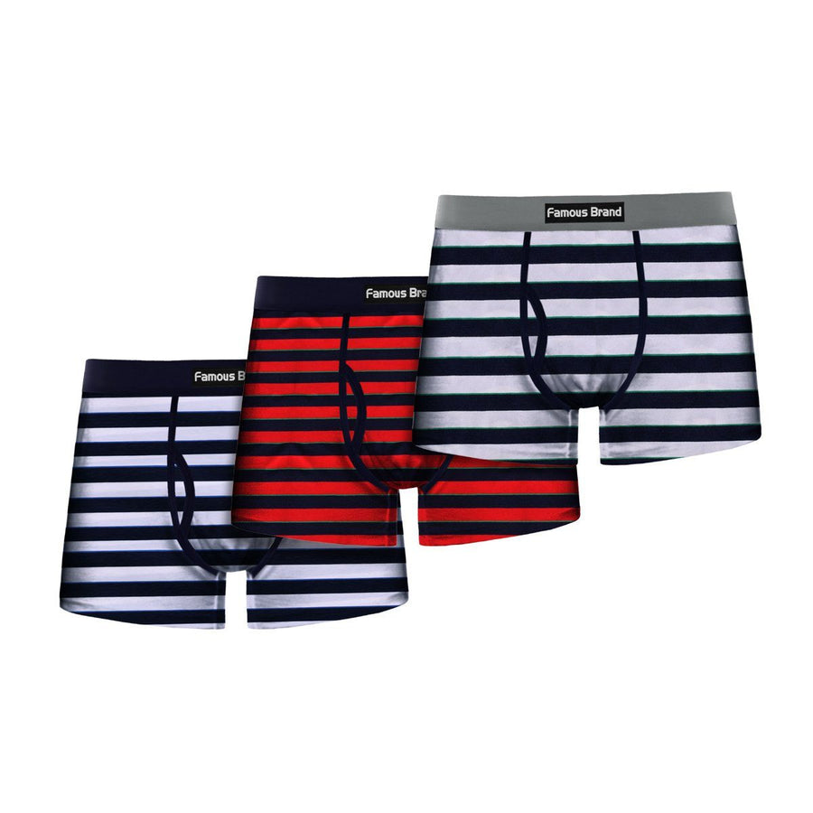 Polo Republica Pack of 3  Comfort Stretch Fly Boxer