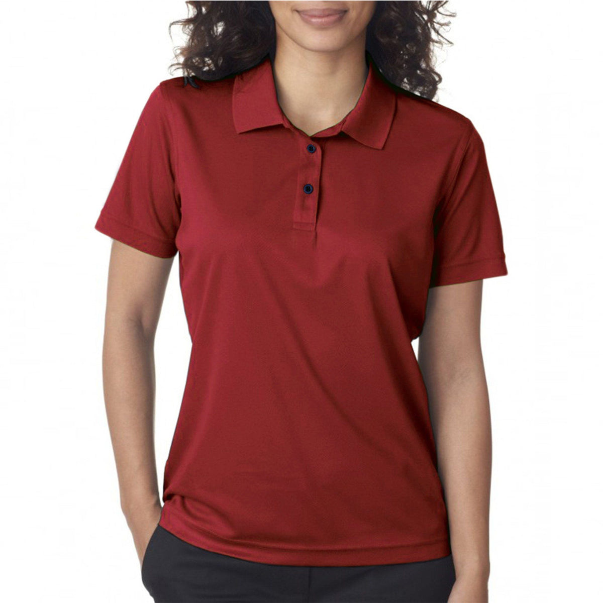 Polo Republica Campri Short Sleeve Polo Shirt Women's Polo Shirt Polo Republica Red M
