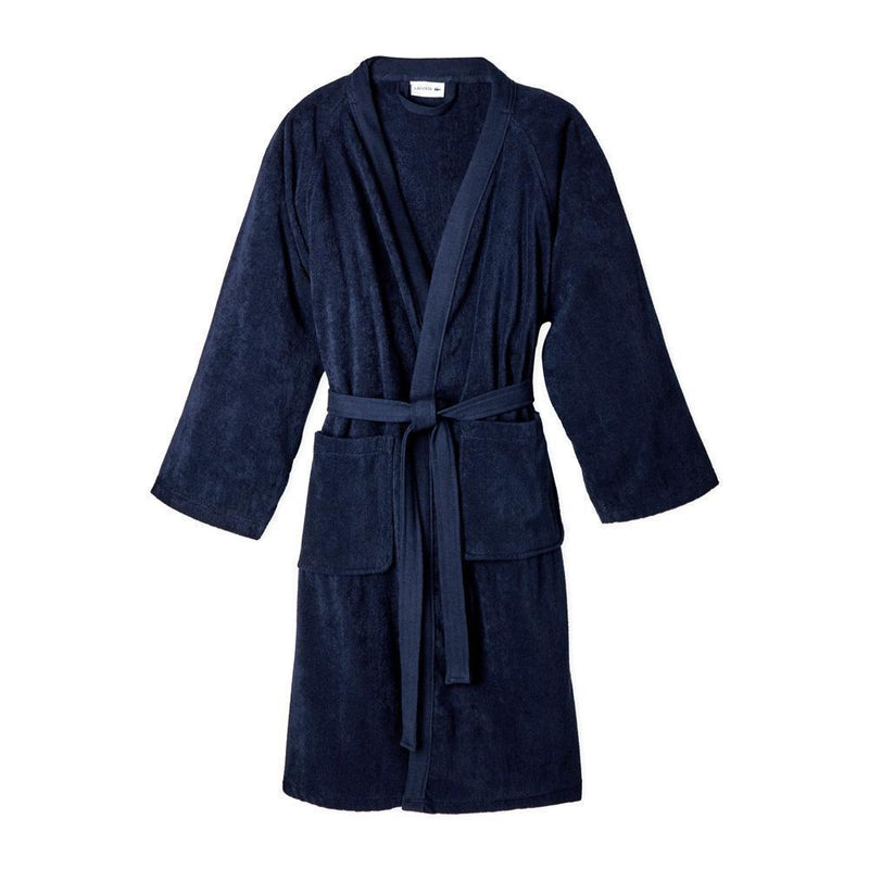 Lacoste Haffouz Home Pique Bathrobe Bathrobe First Choice