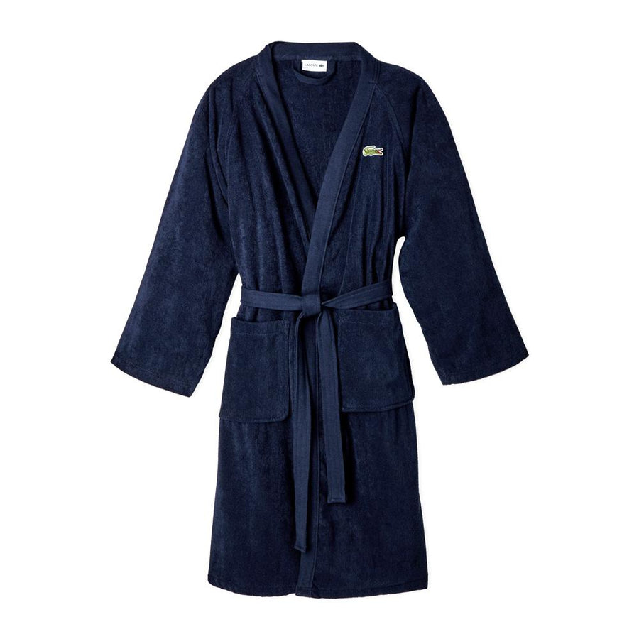 Lacoste Home Pique Bathrobe