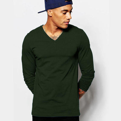 LE Minor Fault V-Neck Long Sleeve Tee