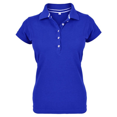 MTS Superstar Polo Shirt Women's Polo Shirt Image Cobalt-Blue XL