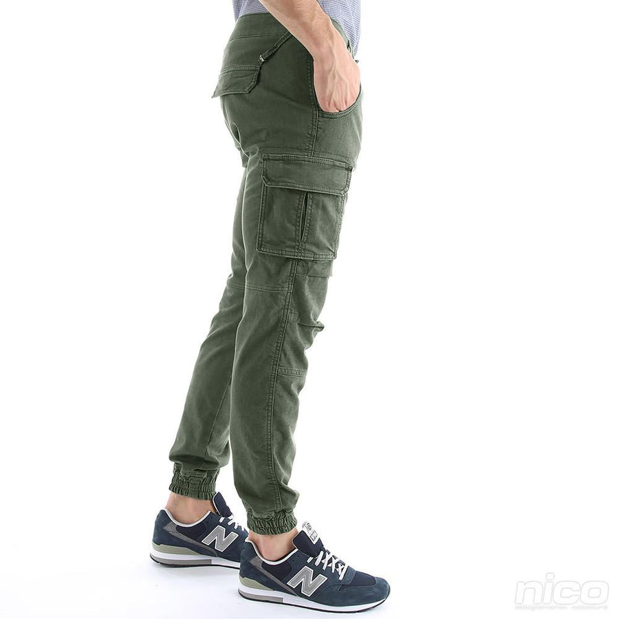 Gas Newington Unisex Cargo Trousers