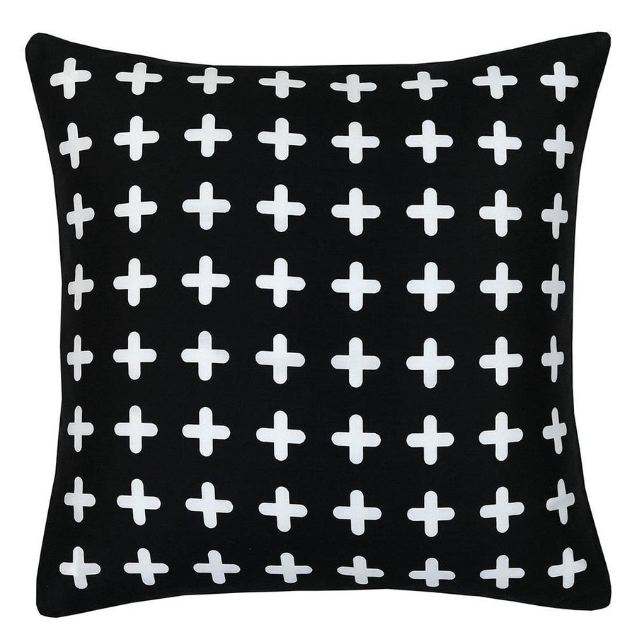 Araish Graphite Printed Cushion Cover