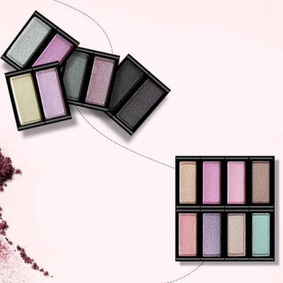 One Spring Eight Color Bright And Charming Eye Shadow Health & Beauty Sunshine China