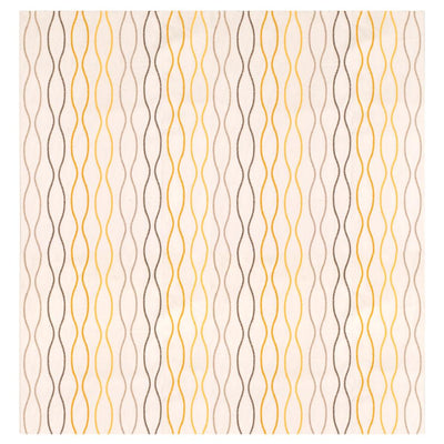 MB Contrast Lining Design One Piece Eyelet Curtain Curtain MB Traders