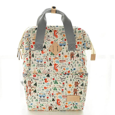 Maternity Large Capacity Printed Diaper Backpack Women's Accessories Sunshine China