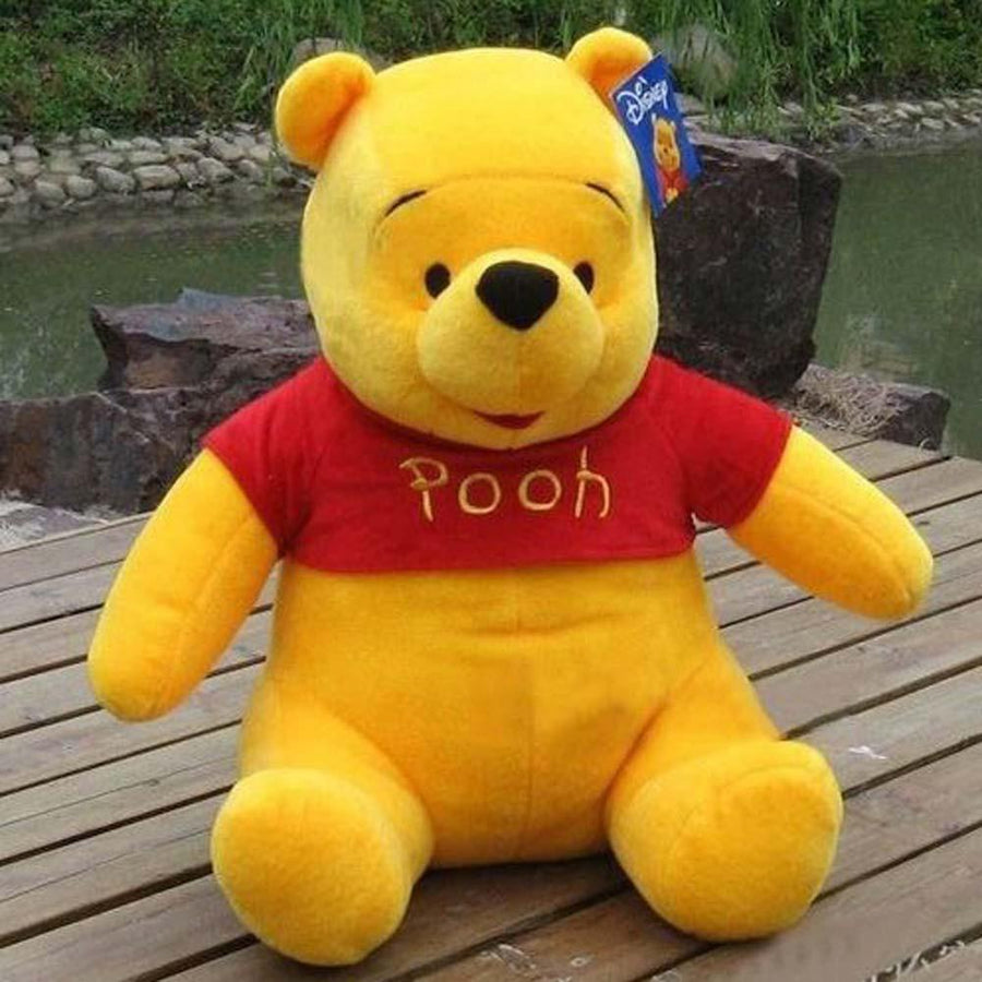 Winnie the Pooh Plush Bear Large Size Stuffed Toys - ExportLeftovers.com