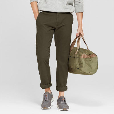 ONLF Natori Slim Straight Chino Pants Men's Chino Emporio Olive 30 32