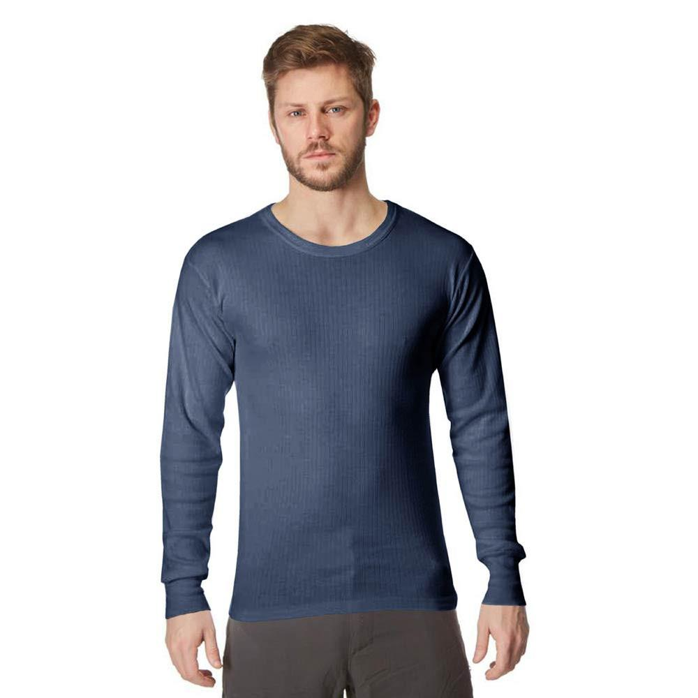 RGT Ventom Long Sleeve Thermal Under Shirt Men's Underwear RGT Denim Blue S