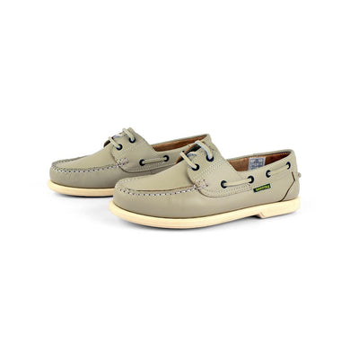 Dakotas Preston Boat Shoes Men's Shoes MB Traders Grey EUR 40