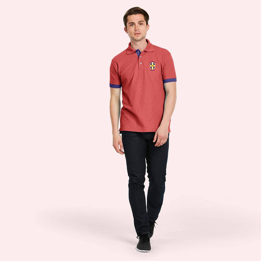 Polo Republica CBF Short Sleeve Polo Shirt