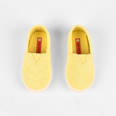 Opoee Kids Nisshinde Canvas Shoes Boy's Shoes Sunshine China Sunny Yellow EUR 20