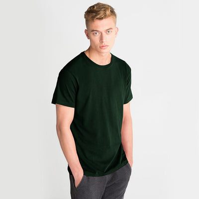LE Bokrid Short Sleeve B Quality Tee Shirt B Quality Image Bottle Green L