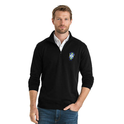 Polo Republica CBF 1/4 Zipper Neck Sweat Shirt Men's Sweat Shirt Polo Republica Black S