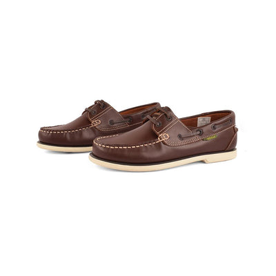 Dakotas Preston Boat Shoes Men's Shoes MB Traders Dark Brown EUR 40