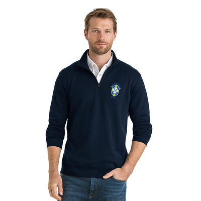 Polo Republica CBF 1/4 Zipper Neck Sweat Shirt Men's Sweat Shirt Polo Republica Navy S