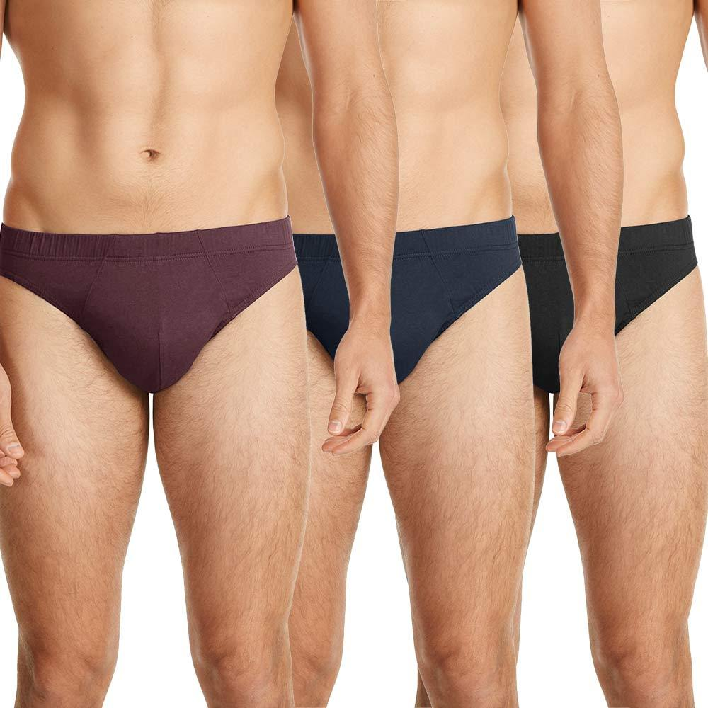 Loops Pack Of Three Men's Bikini Brief Men's Underwear First Choice S