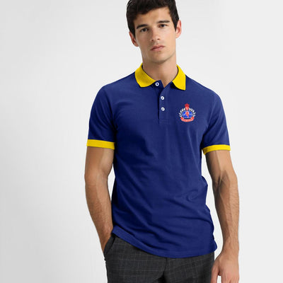 Polo Republica Borgholm PR 1985 Short Sleeve Polo Shirt Men's Polo Shirt Polo Republica Royal Royal S
