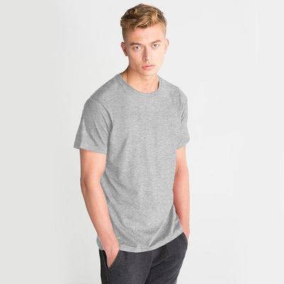 LE Bokrid Short Sleeve B Quality Tee Shirt B Quality Image Heather Grey 2XL