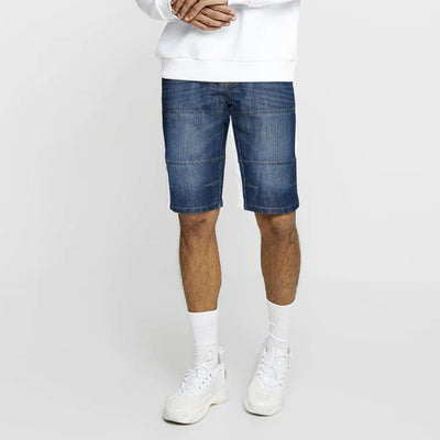 DNM & Co Rinse Wash 3/4 Long Denim Shorts Men's Shorts SRK 28 26