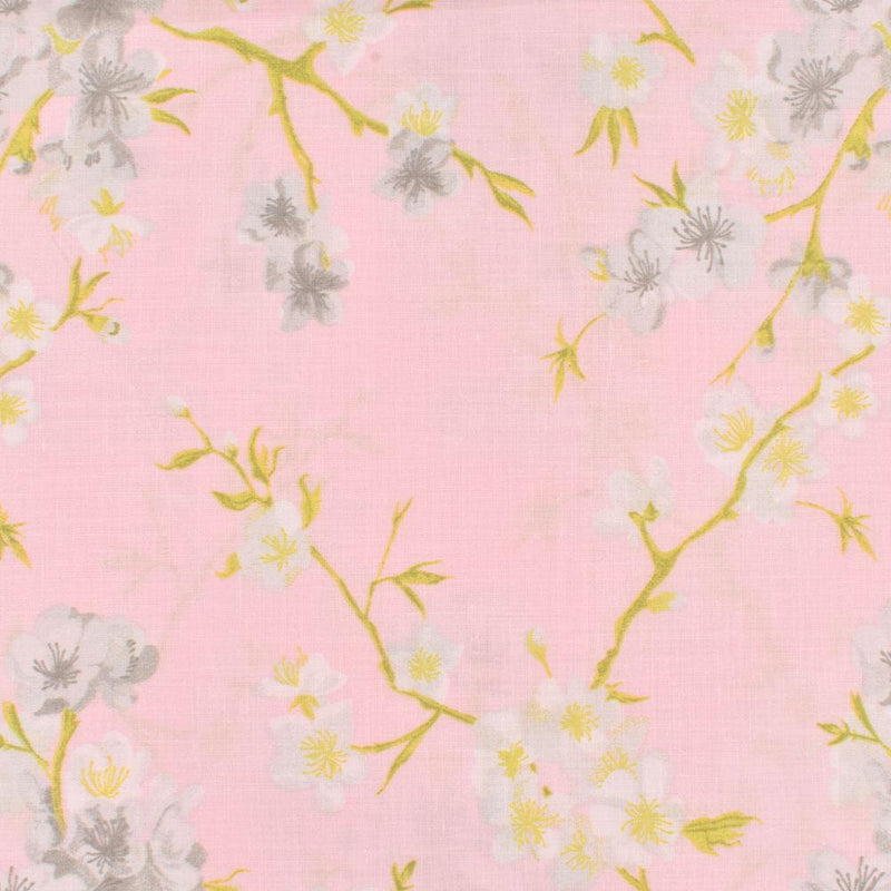 ARC Frankfurt Charming Floral Texture Double Bed Sheet Bed Sheet ARC Light Pink