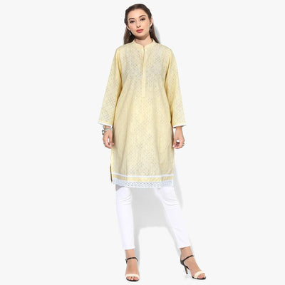 Bohotique Cudrefin Stitched Straight Dyed Kurta