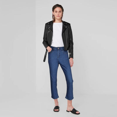 Plus Collection Women's Fashionable Straight Fit Denim Women's Denim SRK
