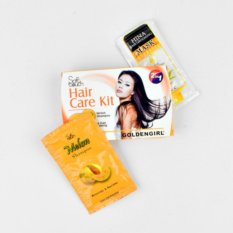 GGC Soft Touch Hair Care Sachet Kit 2 In 1 Health & Beauty Golden Girls Cosmetic